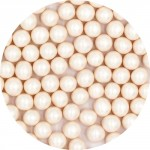 Perle 8 mm 100% naturelle - Blanche