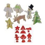 Découpoir 3D à biscuits Temps des fêtes