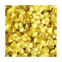 Mini carré brillant or