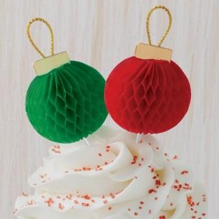 Pick Boules de Noël 3-D