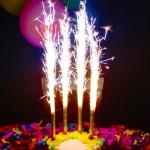 Fontaine magique pour gâteau