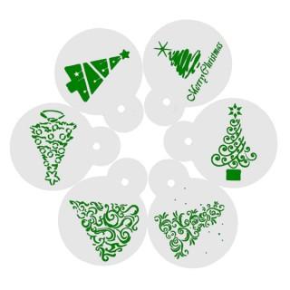 Ensemble Pochoirs à biscuit - Arbre de Noël