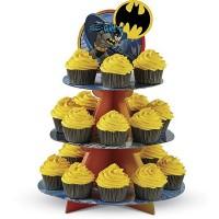 Présentoir à cupcake Batman