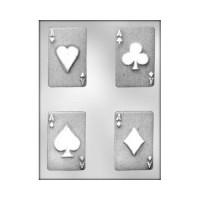 Moule Jeu de cartes - Les As