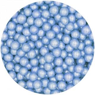 Perle 8 mm 100% naturelle - Bleu