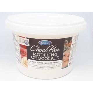 Chocolat à modeler Choco-Pan - Blanc