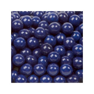 Perle chocolatée 10 mm - Bleu marin