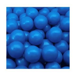 Perle chocolatée 10 mm - Bleu nordique