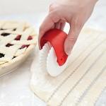 Roulette à tarte / pâtisserie - Dentelé