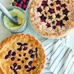 Découpoir réversible pour tarte Cerise / Étoile