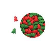 Mini sucre Sapin rouge et vert