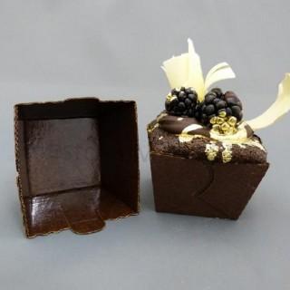 Moule en carton carré à cupcake / muffin