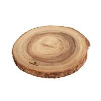 "Présentoir en bois d'acacia - 12.5"""