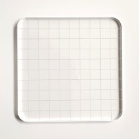 Support acrylique pour embosseur en silicone
