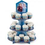 Présentoir à cupcakes La Reine des neiges 2