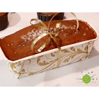 """Moule en papier carton à pain 6"""" - Blanc et or"""