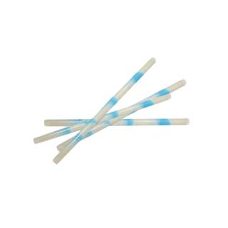 Bâtonnets de chocolat blanc marbré bleu