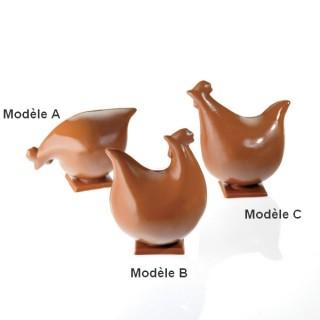 Moule Poulette 3-D