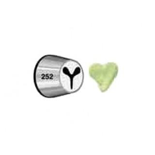 Douille à pâtisserie Motif Coeur No252