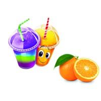 Sirop pour barbotine ( slush ) - Orange