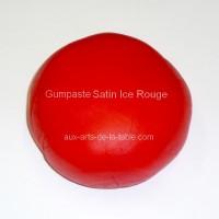 Gumpaste ( pastillage ) Satin Ice - Rouge 225g