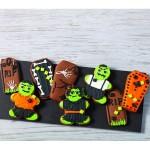 Nécessaire pour biscuits Zombies et pierre tombales