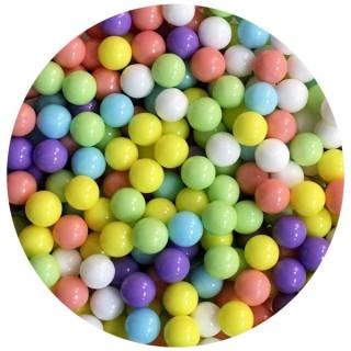 Perle en sucre Mélange pastel 6.5 mm
