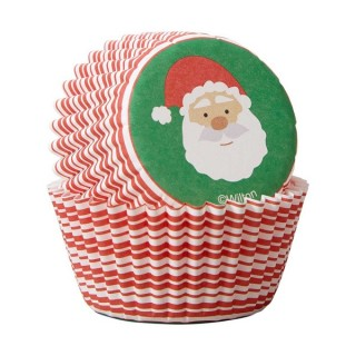 Mini moule en papier Père Noël