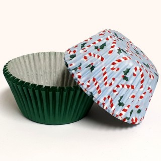 Moule en papier Canne de Noël