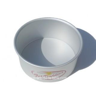 Moule rond à gâteau - fond amovible 6 x 3