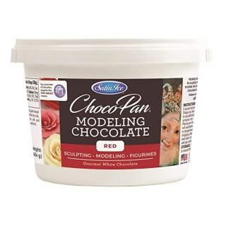 Chocolat à modeler Choco-Pan - Rouge