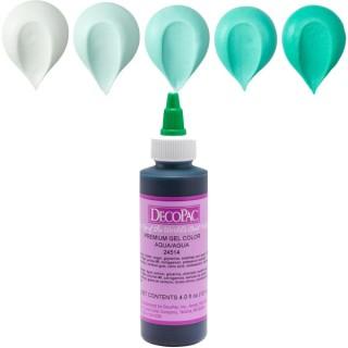 Colorant à glaçage Aqua 4 oz