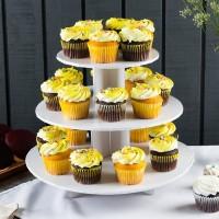 Présentoir à cupcakes - Blanc