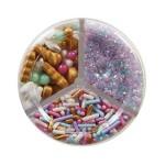 Sucre et perles à parsemer - Assortiment Licorne