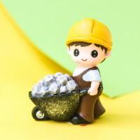 Figurine Travailleur de la construction