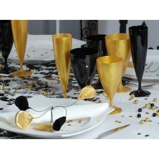 Flûte à champagne Ébène