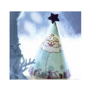 Impression pour Mini-pointu Père Noël aqua