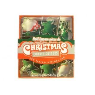 Mini emporte-pièces Noël