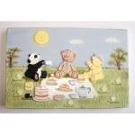 Découpoir Le picnic des oursons