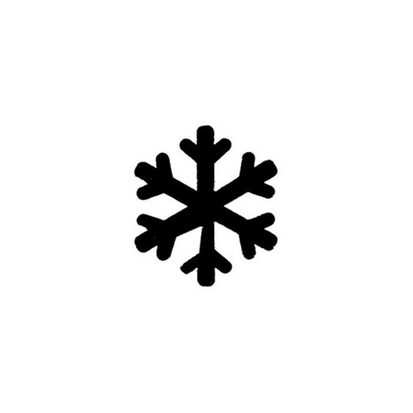 Pochoir flocon de neige - Dessin flocon de neige simple ...