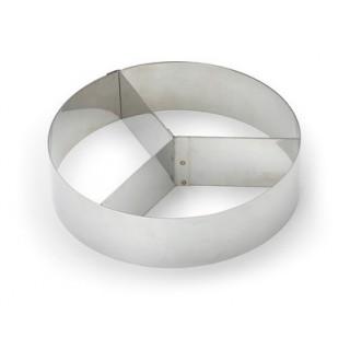 Cercle à mousse trio droit