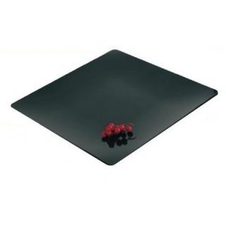 """Assiette Fluid' noire 4"""""""