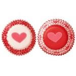 Mini moule en papier St-Valentin