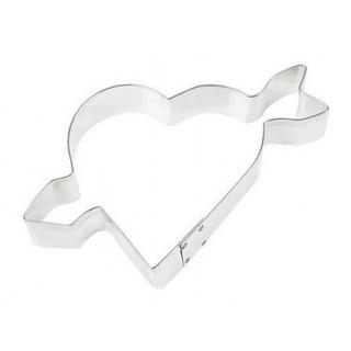 Découpoir Coeur avec flèche