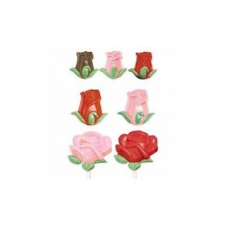 Moule Rose et boutons de rose