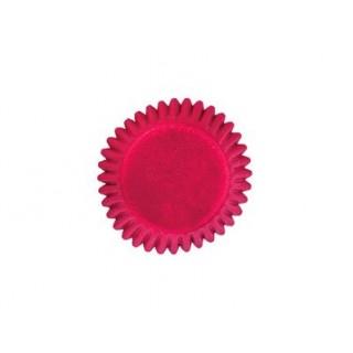 Mini moule à chocolat et bonbon rouge