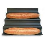 Plaque à pain baguette