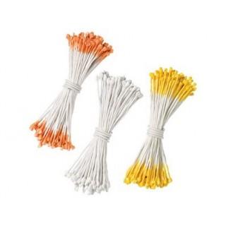Pistil de fleurs Orange, jaune, blanc