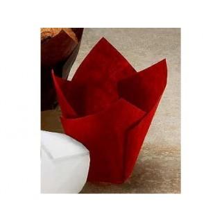 Moule en papier Grande Tulipe rouge
