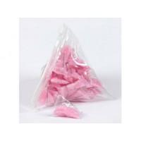 Minis sachets Triangle de sucre rose